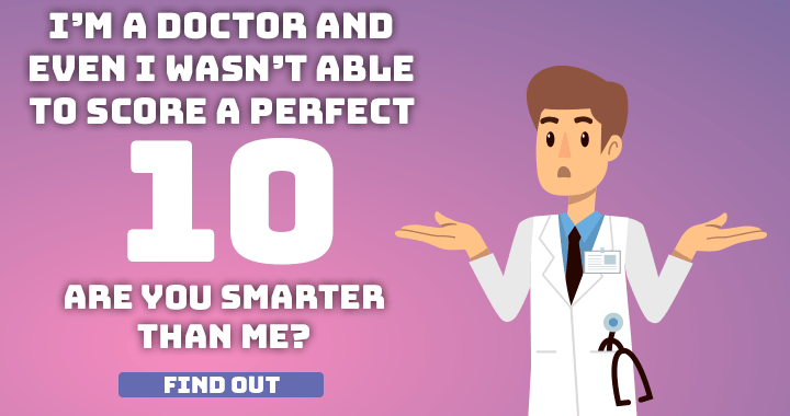 You will fail to score a perfect 10!