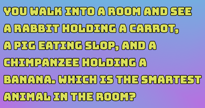 If you can figure out this answer you should take this quiz