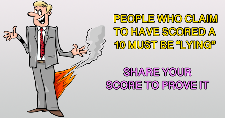 A Trivia quiz where most people lie about their score