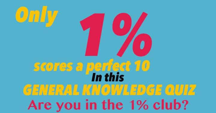General Knowledge Trivia.